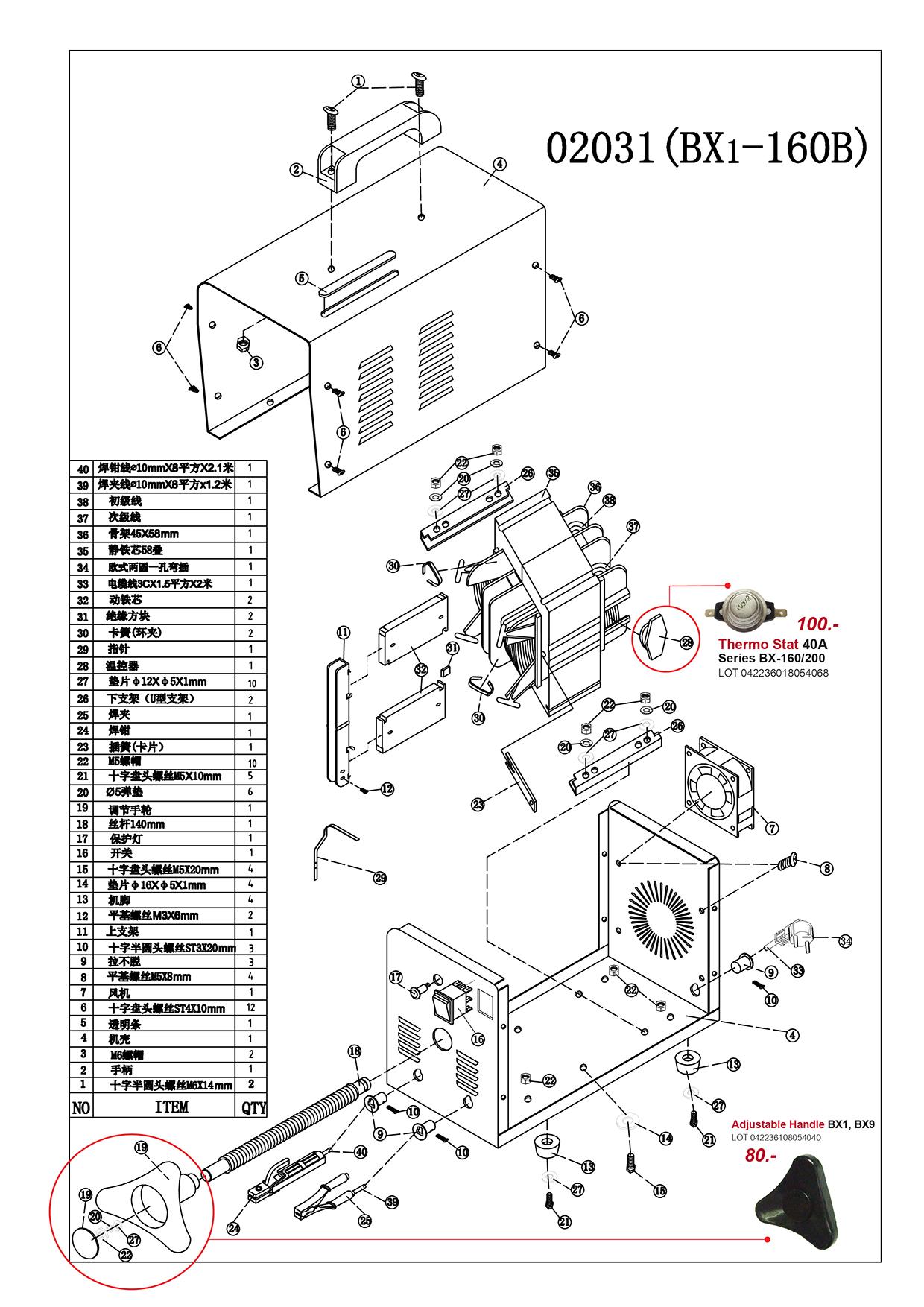 (91/239) เครื่องเชื่อมไฟฟ้า - Welding Machine BX6 Series