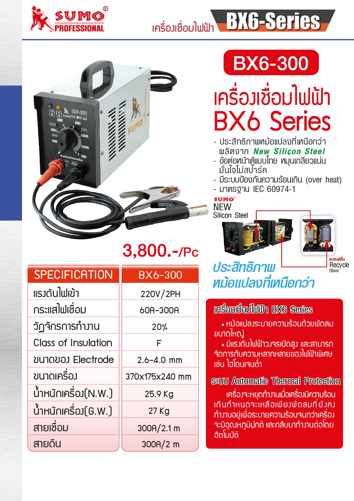 (5/16) เครื่องเชื่อมไฟฟ้า - Welding Machine BX1-250C Series