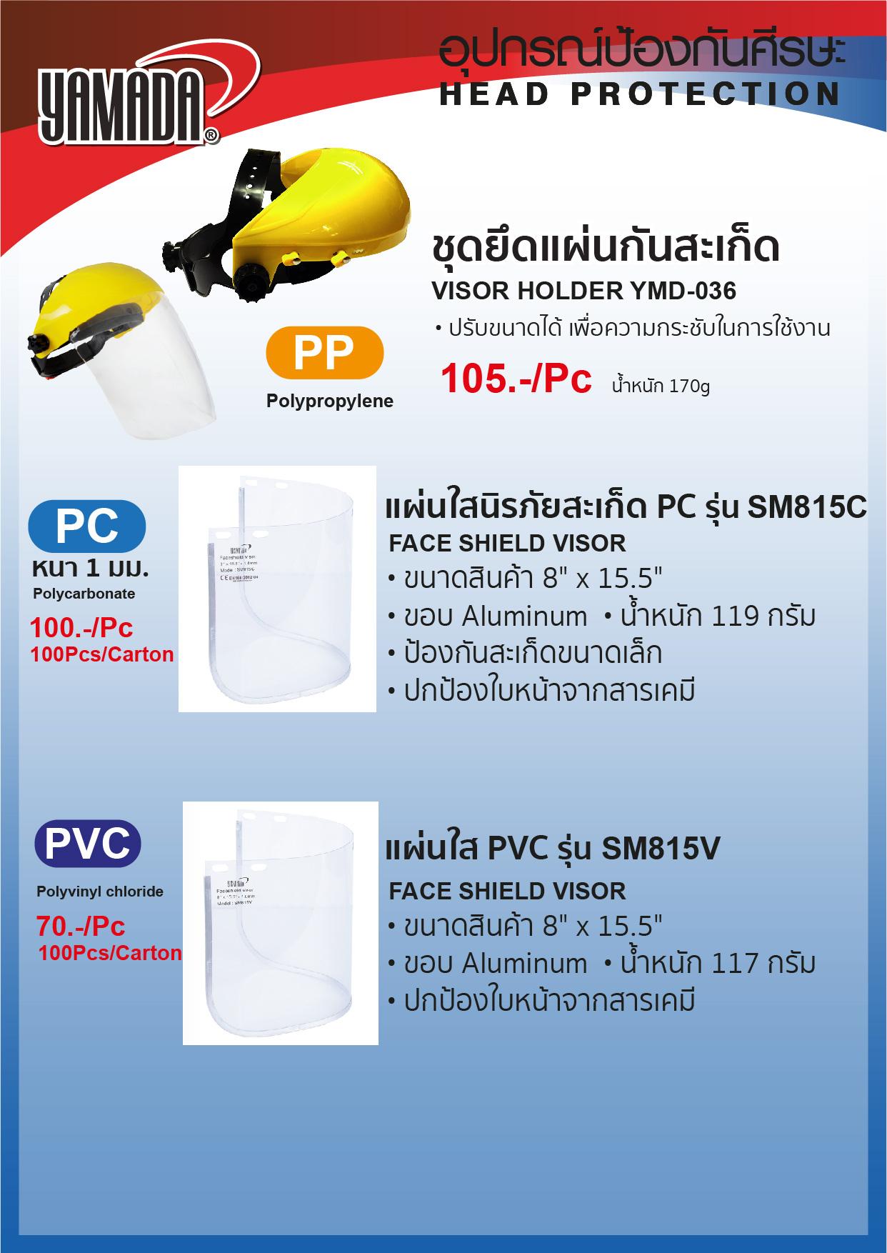 (3/6) หน้ากากกันแสงเชื่อม  YMD-518