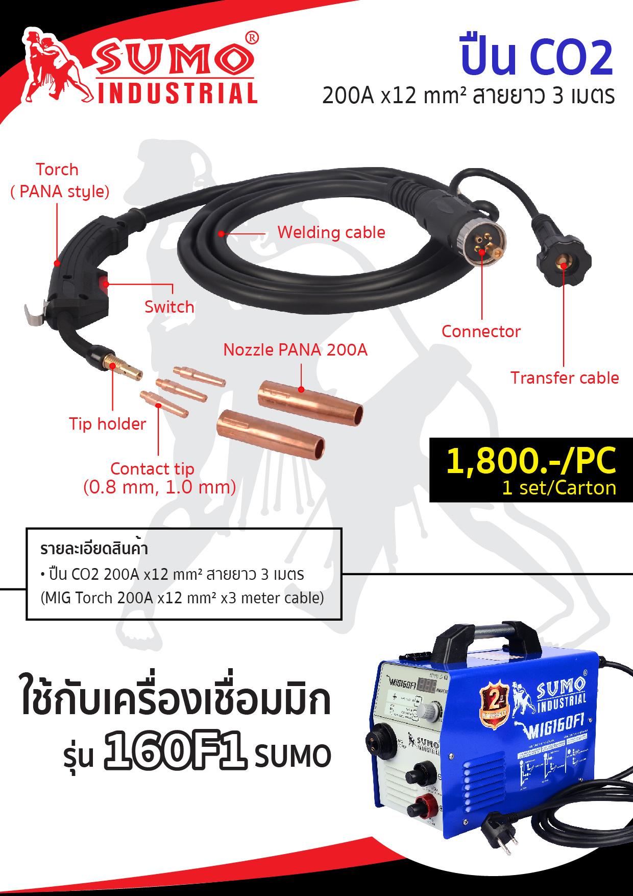 (27/243) อุปกรณ์เสริม MIG160F1