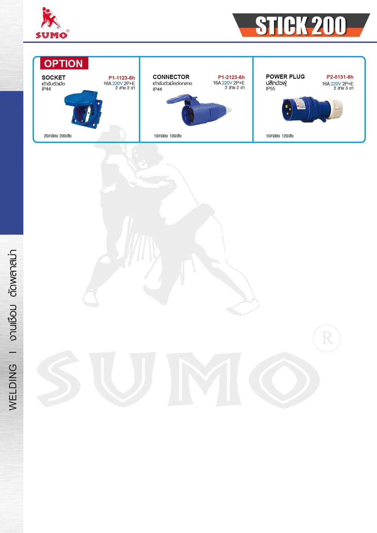 (18/19) เครื่องเชื่อมไฟฟ้า - Welding Machine Boxing mini200A