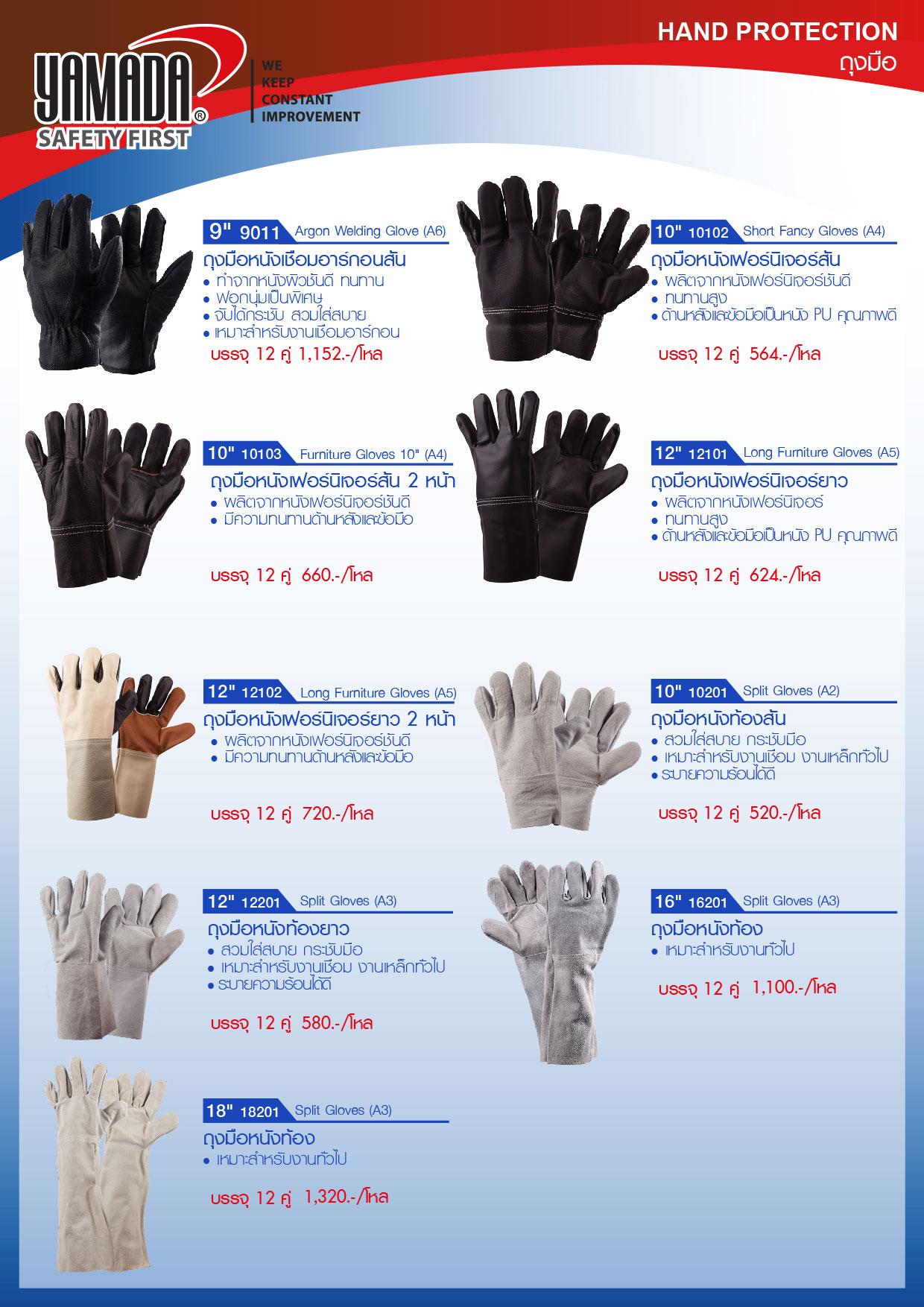 (242/271) ถุงมือ